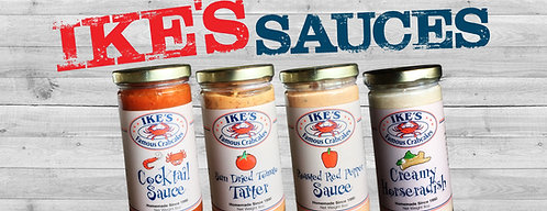 Ike's Famous 4 Pack of Homemade Sauces