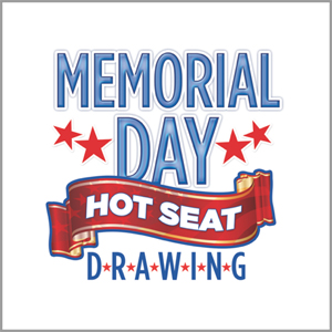 Memorial Day Hot Seat Giveaway