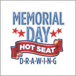 Memorial Day Hot Seat Giveaway
