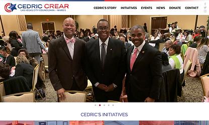 Cedric Crear Website