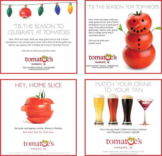 Tomatoes Food Ads