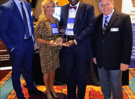 Achille Ekeu Honored at NACVA's Annual Conference in Salt Lake City, Utah