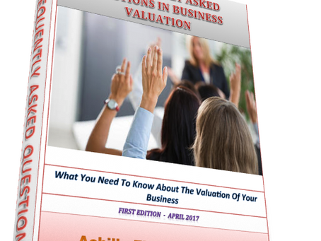 Announcement: My New Business Valuation eBook