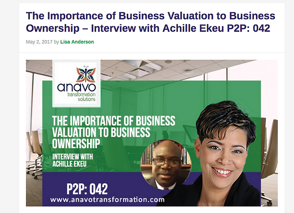 My Business Valuation Podcast