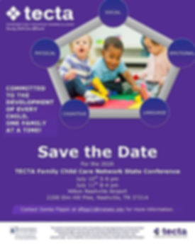 TECTA Family Child care conference 2020.