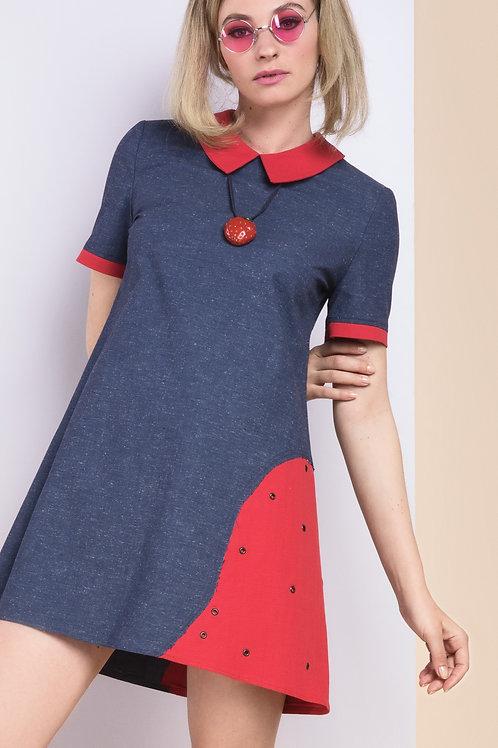 """Strawberry"" cotton dress"