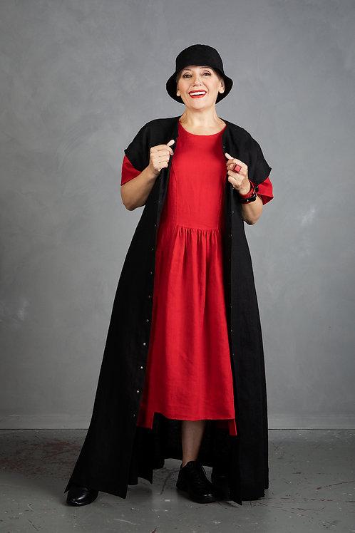 Kimono-styled cardigan/dress
