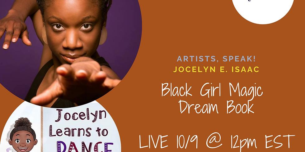 Storytime with Joceyln, Artists, Speak IG LIVE!