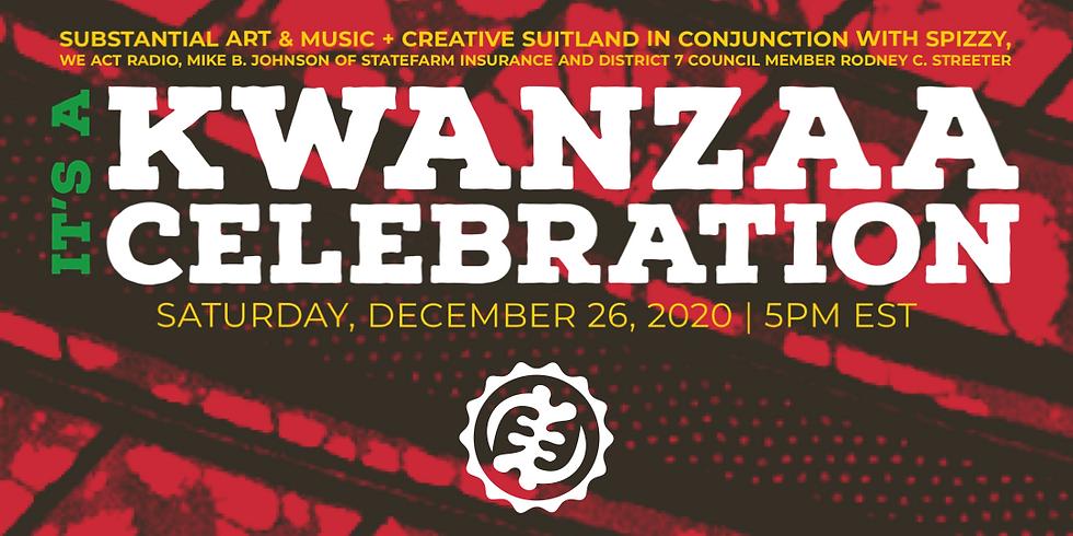 It's a KWANZAA Celebration