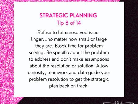14 Days Of Strategic Planning Tips - Tip #8