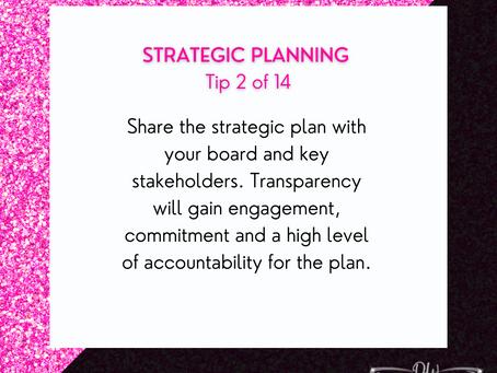 14 Days Of Strategic Planning Tips - Tip #2