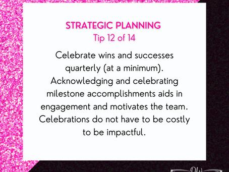 14 Days Of Strategic Planning Tips - Tip #12