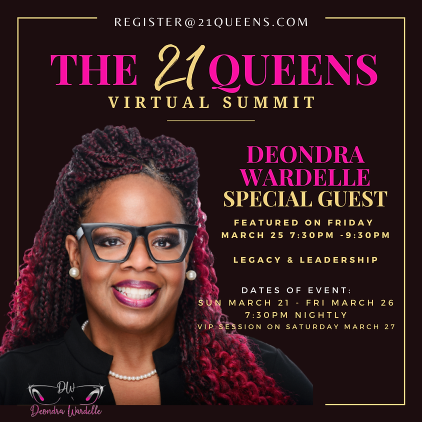 The 21 Queens Virtual Summit