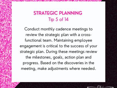 14 Days Of Strategic Planning Tips - Tip #5