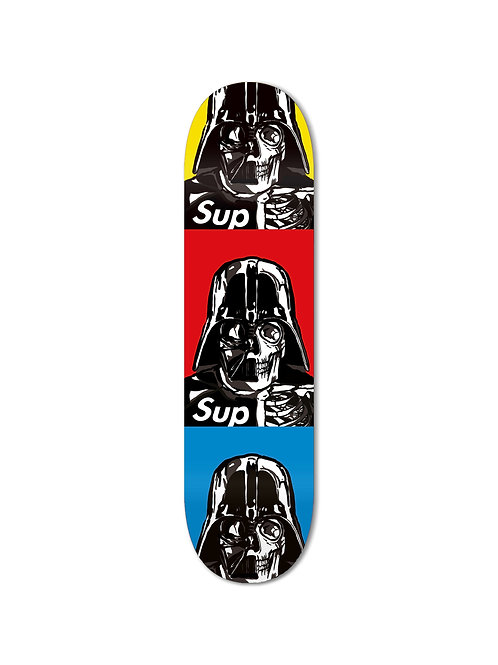 Space SUP Red Skateboard