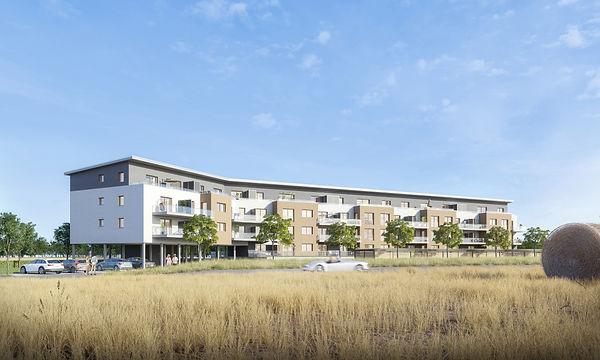 Architekturvisualisierung - Wohnbebauung