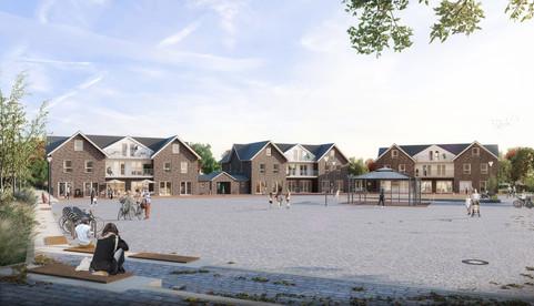 Dorfplatzbebauung