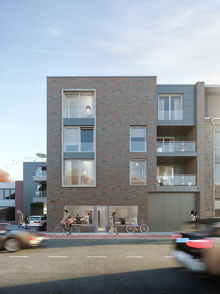 Architekturvisualisierung - Wohn- und Ge