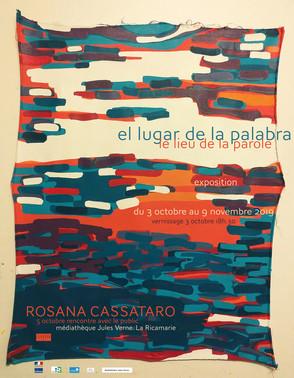 Vernissage Exposition Rosana Cassataro                  3 oct-9 nov 2019