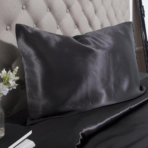 Black Housewife Silk Pillowcase