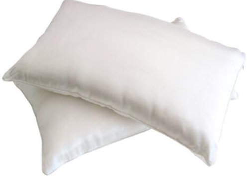 Silk-Filled Pillows