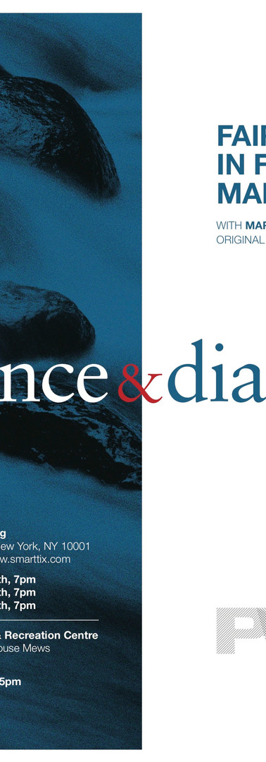 Dance and Dialogue brochure