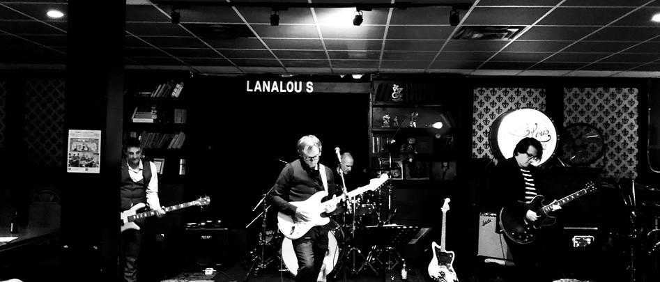 Playing at Lana Lou's