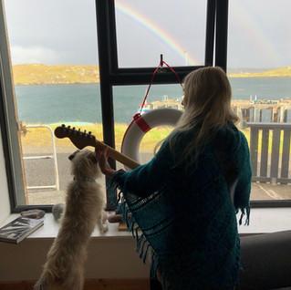 Eleanor, Thistle and Rainbow
