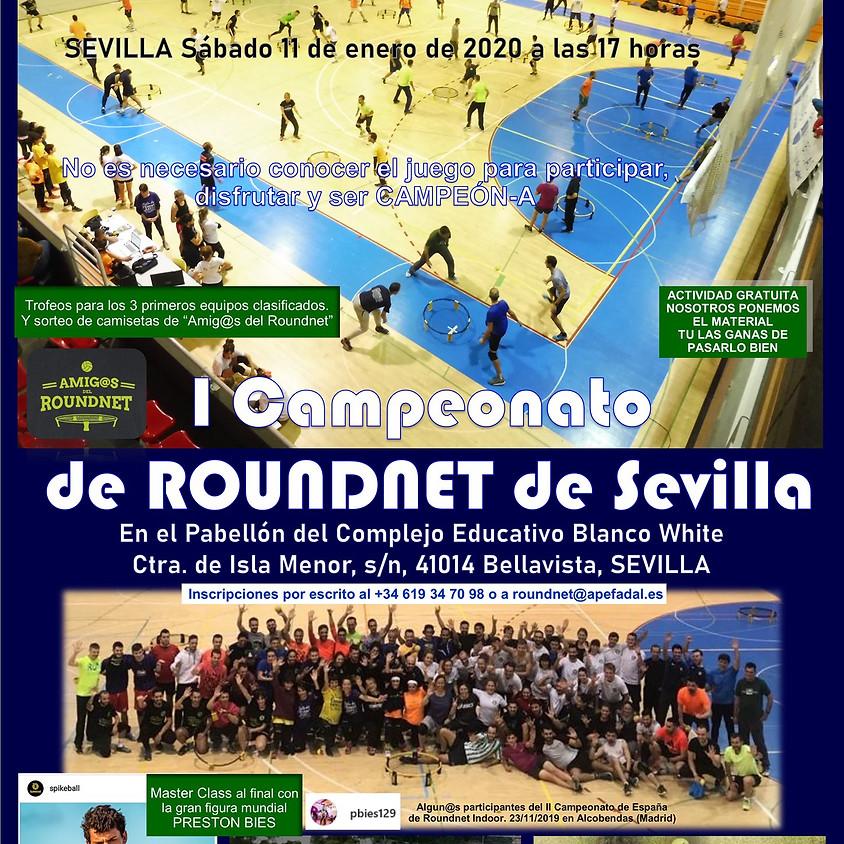 I Campeonato de Sevilla de Roundnet Indoor