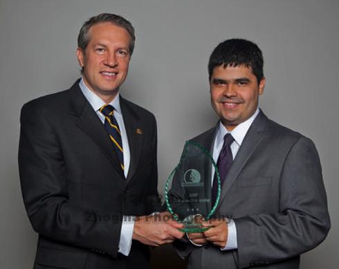 William Giannobile, DDS, MS, DMSc - Professor & Chair, POM University of Michigan delivering APPF award, 2012.