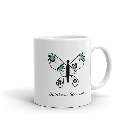 Datavizbutterfly - Datavizus Societum - Mug