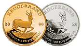 Gold and silver Krugerrands investgold.p