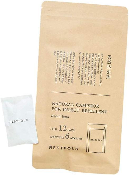 RestFolk日本製樟木防蟲包 (12小包)