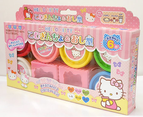 日本GINCHO小麥黏土套裝 (Hello Kitty)