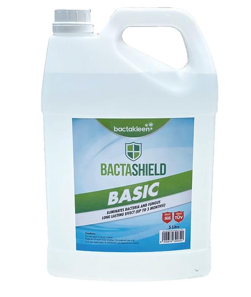 BACTAKLEEN Bactashield Basic 抗菌噴霧劑 (5L)