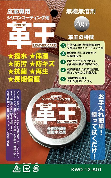 革王 皮革用SILICONE COATING 矽塗層 (12g)