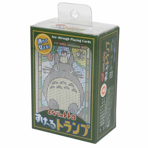 日本ENSKY 龍貓 神奇透明撲克牌