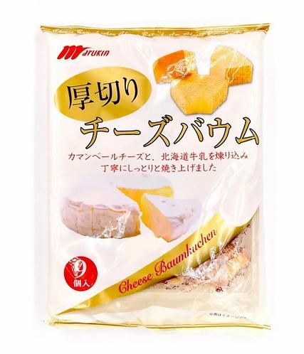 丸金 - 厚切北海道芝士年輪蛋糕 (9件裝)