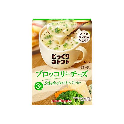 POKKA SAPPORO 芝士西蘭花濃湯 (3包裝)