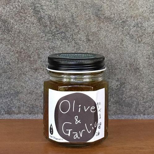 今しぼり 有機醬油糟 (橄欖蒜泥)