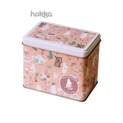 日本HOKKA姆明谷餅乾收藏版鐵盒裝(肉桂味)