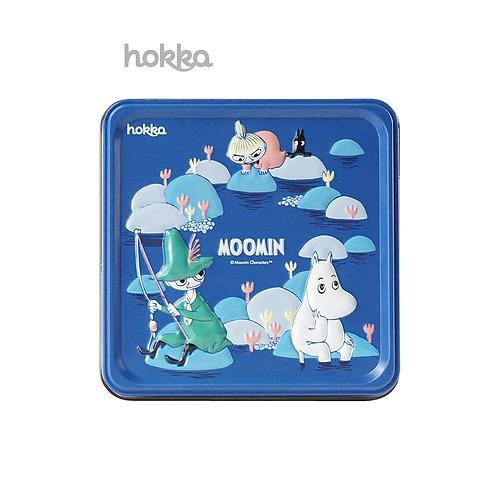 【早鳥預購】日本HOKKA姆明谷餅乾收藏版鐵盒裝(牛奶味) 〔預計2021年2月1日發貨〕