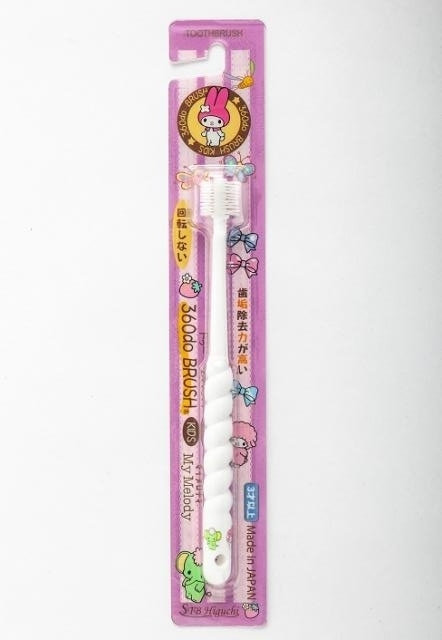 日本360度 Melody兒童牙刷 (3歲以上 使用)