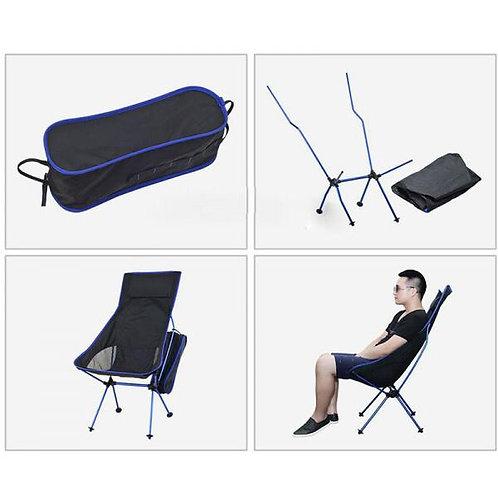 超輕鋁合金摺椅(高背)