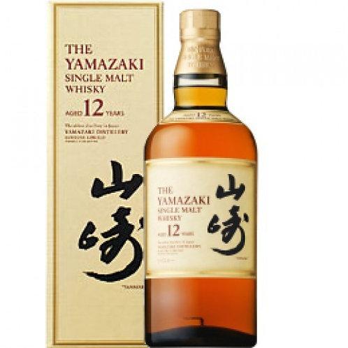 【代購】日本 山崎 12年 單一麥芽威士忌 (700ml)