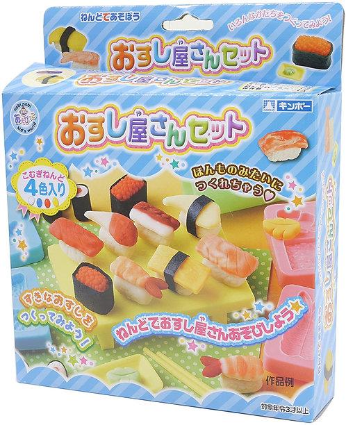 日本GINCHO 小麥黏土套裝 (壽司店)