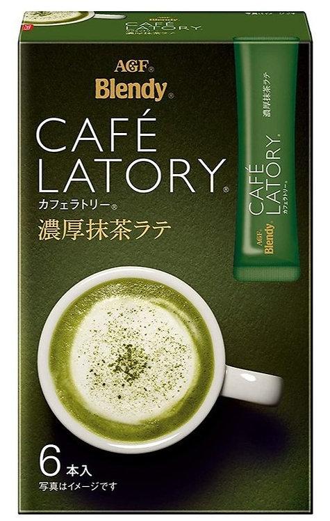 AGF Blendy Cafe Latory 濃厚抹茶拿鐵