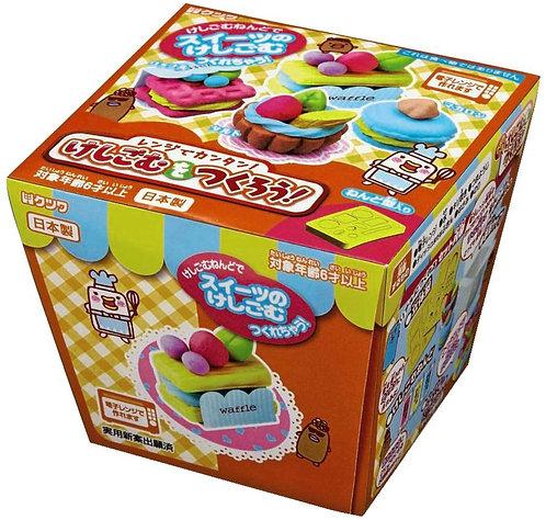 日本製 DIY手作橡皮擦套裝(甜品)