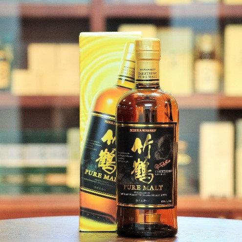 日本 竹鶴 單一麥芽威士忌 (700ml)