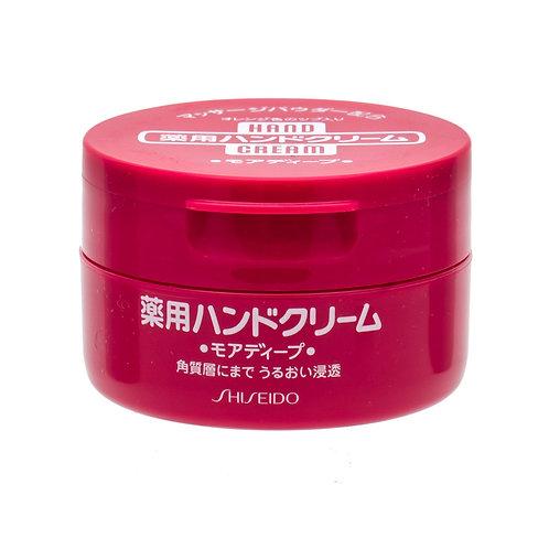 日本 資生堂 尿素深層滋養護手霜 紅罐(100g)